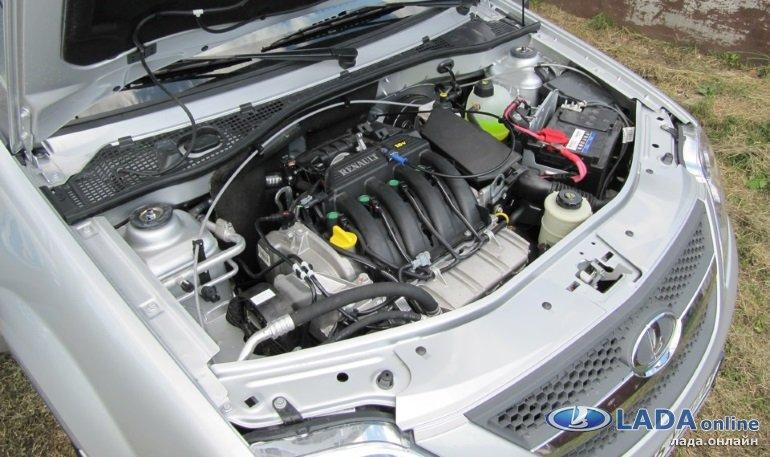 Лада Ларгус двигатели характеристики и особенности моторов на Ларгусе