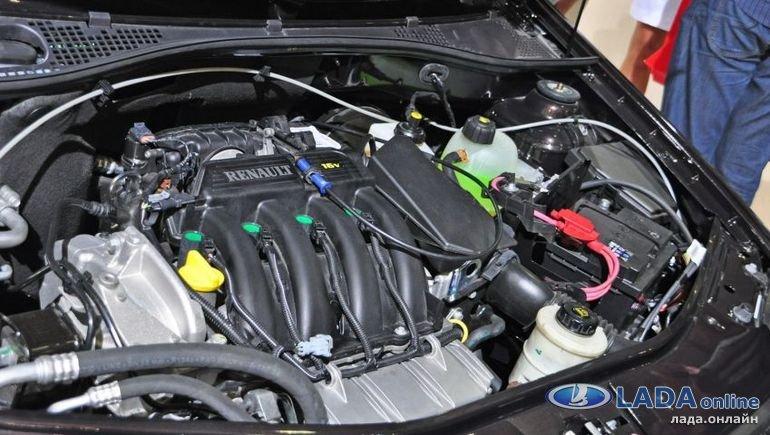 Описание двигателя K4M (Рено Логан/Сандеро/Ларгус)