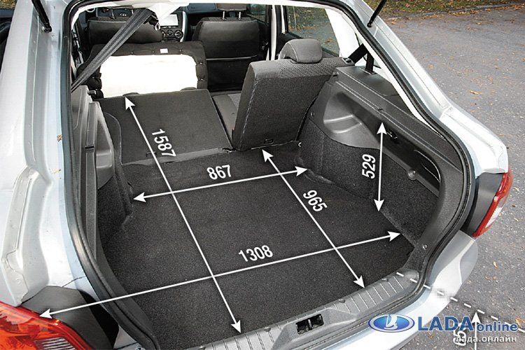 Грузи больше! Тест-драйв новой Lada Granta Liftback