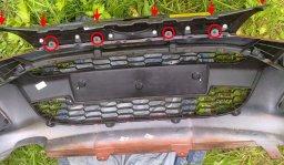 Как закрыть радиатор на зиму калина 2