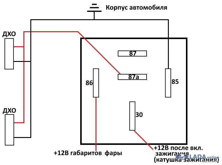 Птф в качестве дхо + эл. Схема просмотр темы:: autolada. Ru.