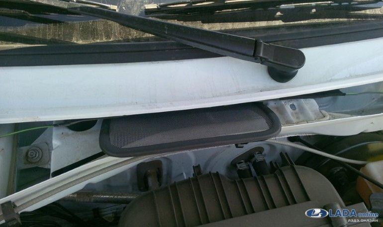 Фильтр сетка воздуховода для лада ларгус своими руками