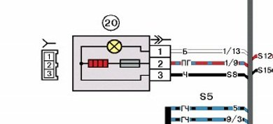 Электрическая схема прикуривателя лада калина5