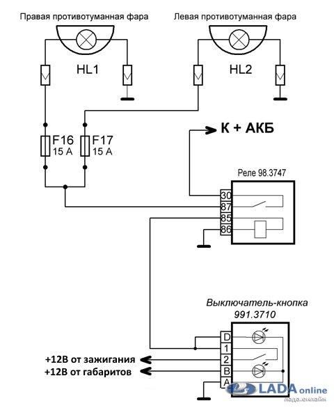 1442915476 shema - Схема подключения птф лада гранта
