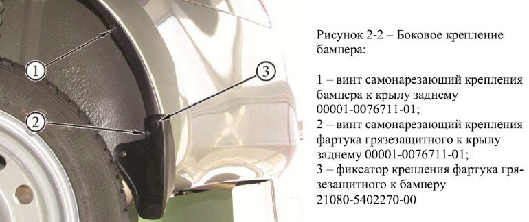 1443069470 sn2 - Замена заднего бампера лада гранта