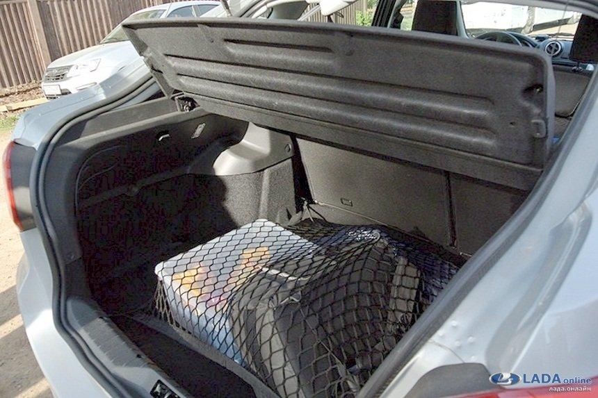 фото багажника лада гранта лифтбек