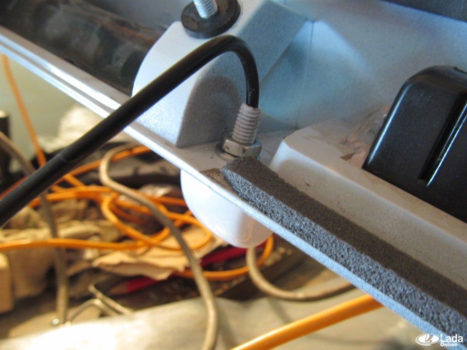 Калина схема подключения магнитолы фото 726