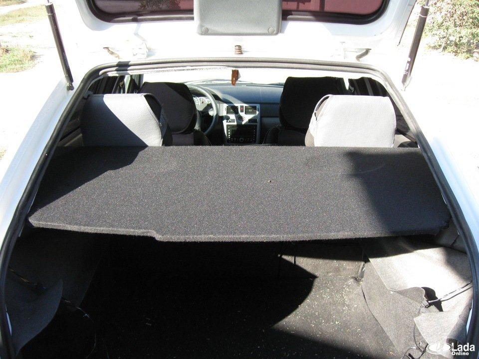 Шумоизоляция багажника приора