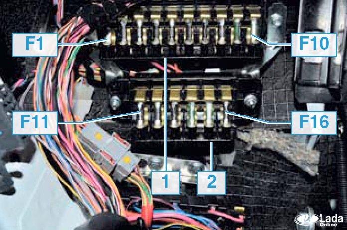 Где находятся предохранители на ваз 21214 инжектор