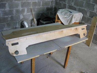 изготовление акустической полки лада приора