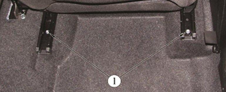 Как снять заднее сиденье на весте motors-avto.su
