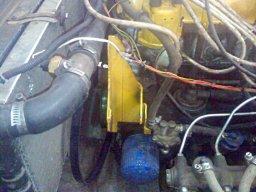 перенос генератора наверх в ниве ваз 21213