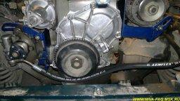 перенос генератора нива 21214 с гур