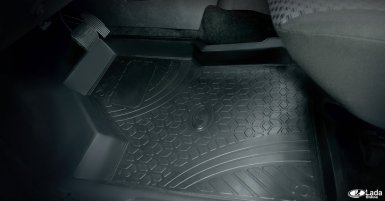 резиновые коврики калина 2