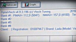 реальная мощность двигателя ВАЗ-21129 (Лада Веста, XRAY)
