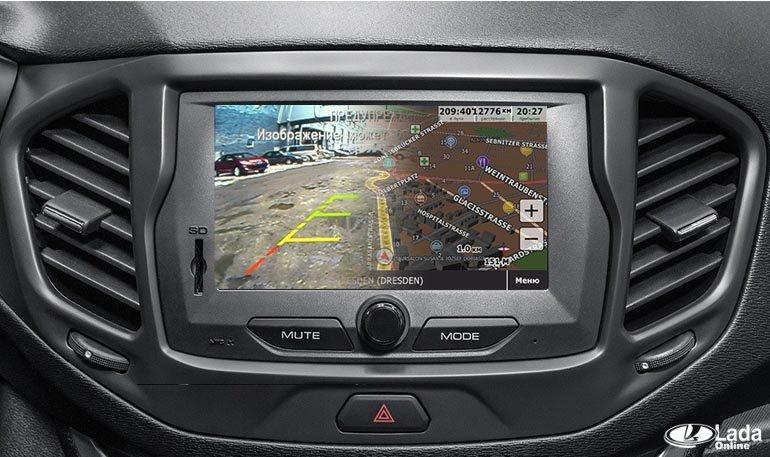 Как подключить GPS и камеру заднего вида к штатной ММС Лада Веста