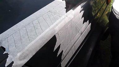 линии среза капота Нивы