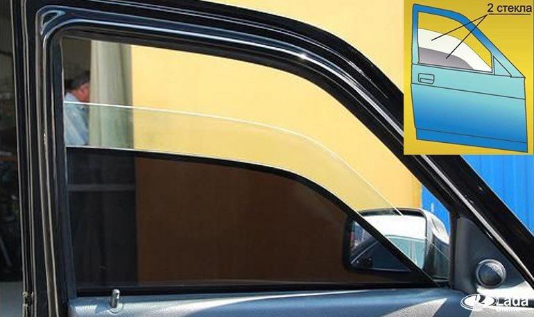 Двойные стекла с тонировкой – что нужно для установки? Видео