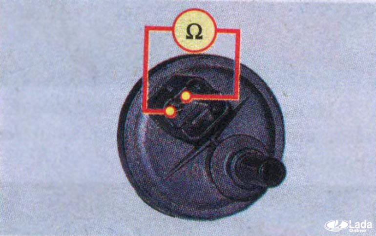 проверка клапана продувки адсорбера на Лада Веста или XRAY