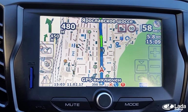 Прошивка СитиГид для Лада Веста (удобный интерфейс, камеры, засады)