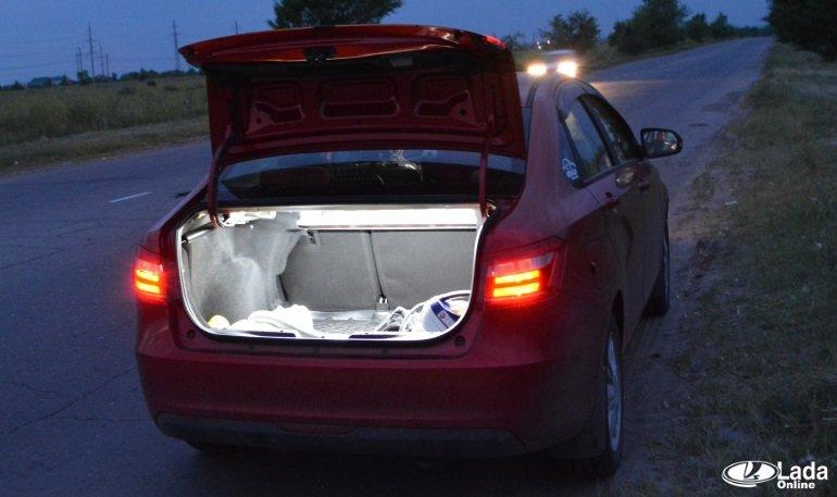 Доработка подсветки багажника Лада Веста » Лада.Онлайн - все самое  интересное и полезное об автомобилях LADA