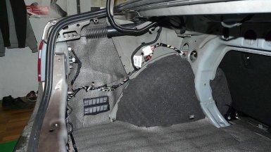 Шумоизоляция багажника лада гранта