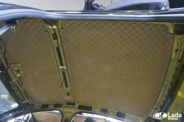 Багажника на крышки ланос шумоизоляция