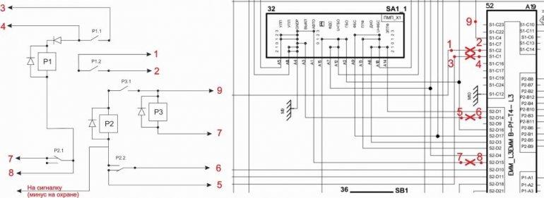 1508319134 1508309758 shema3 - Схема подключения дхо через ручник