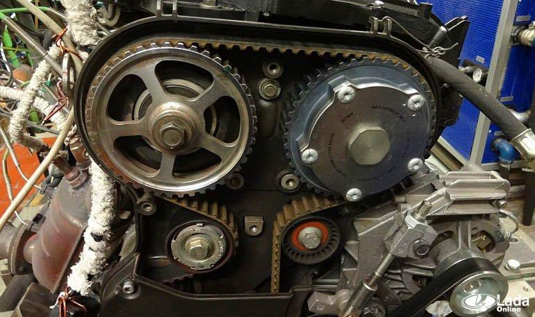 Как заменить ремень ГРМ на двигателе 1.8 л (ВАЗ 21179)