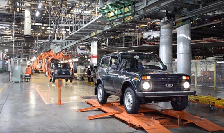 «АвтоВАЗ» увеличил стоимость трехдверной Лада 4X4 на6 000 руб.