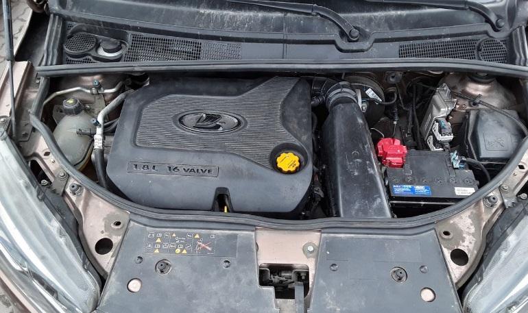 Установка впуска от Lada Vesta Sport на Lada XRAY