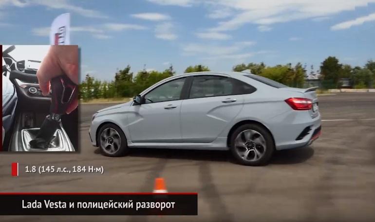 Габариты автомобиля Лада Веста