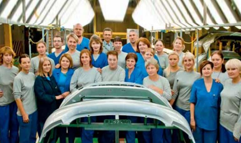 Бригада цеха окраски пластмассовых изделий стала лучшей по качеству работ на АвтоВАЗе