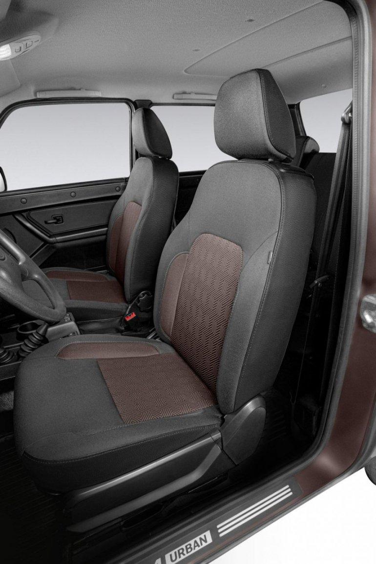 сиденья обновленной Lada 4x4 2020 года