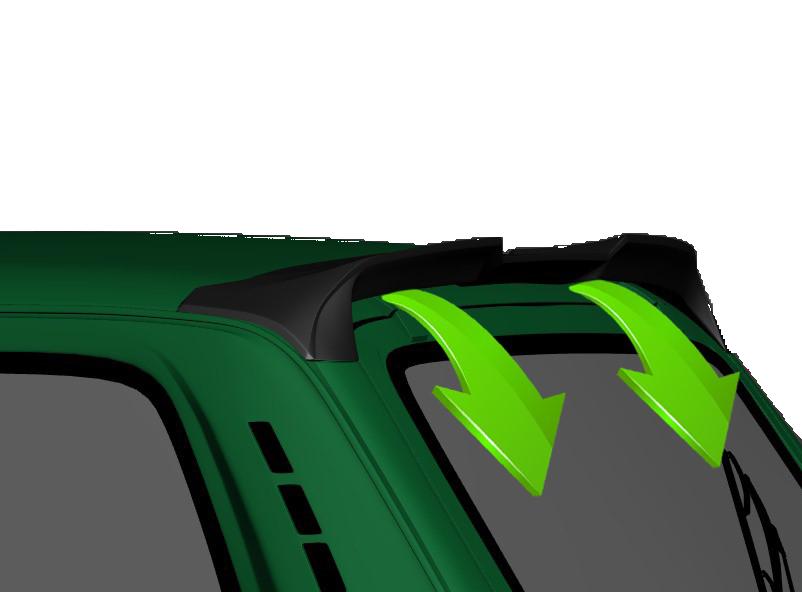 Купить спойлер аэродинамический для LADA 4x4 (подготовленный к окраске)