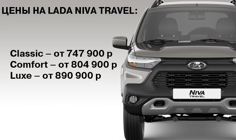 АВТОВАЗ объявил цену и комплектации Lada Niva Travel