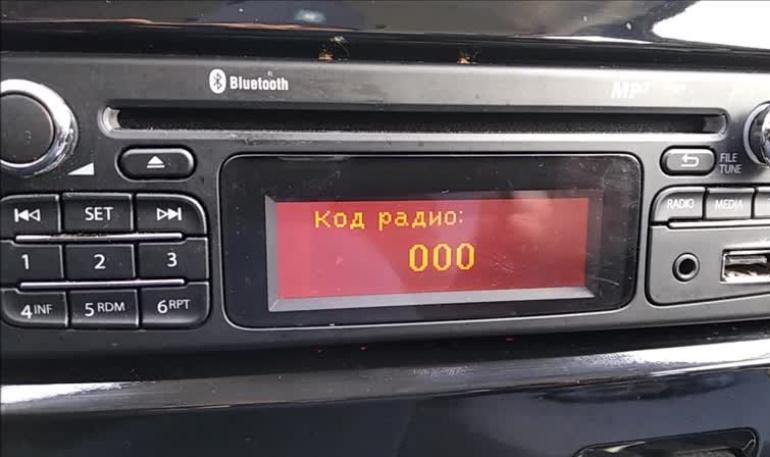 Как узнать код радио (магнитолы) Lada Largus и Renault